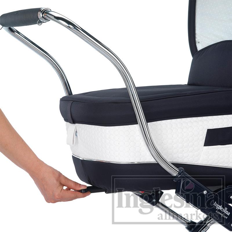 Детская коляска Inglesina Vittoria BT Blu - прогулочный блок + накидка...