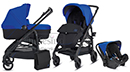 Коляска 3 в 1 Inglesina Trilogy Colors Splash Blue