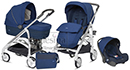 Коляска 3 в 1 Inglesina Trilogy Comfort Touch Cobal Blue